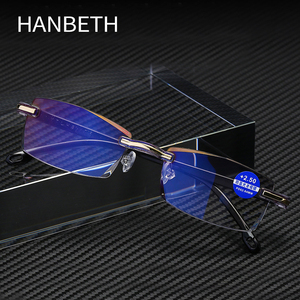 Ultralight Rimless Reading Gla