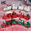 Christmas Cake Decoration Holiday Creative Decoration Baking Decoration Children Holiday Commemorative Gift Collection