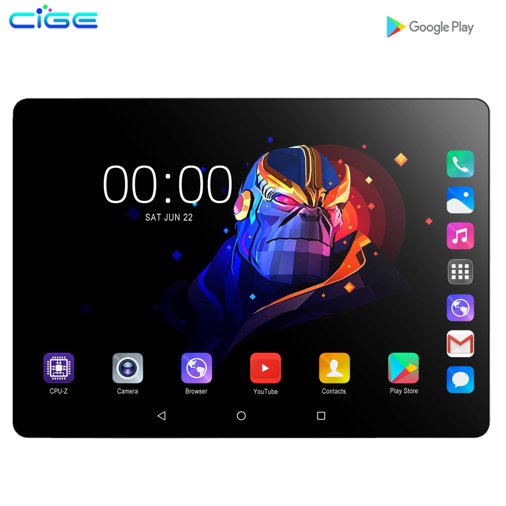 Mx960 New 10.1 Inch 3G 4G LTE Tablet PC Octa Core 6GB RAM 128GB ROM 1280x800 IPS 2.5D Tempered Glass 10 Tablets Android 9.0