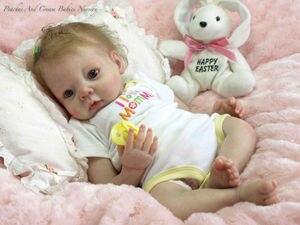 Baby Doll D138 55 CENTIMETRI 22inch NPK Bambola Bebe Reborn Bambole Ragazza Realistico In Silicone Rinato Bambola di Modo Neonato Reborn I bambini