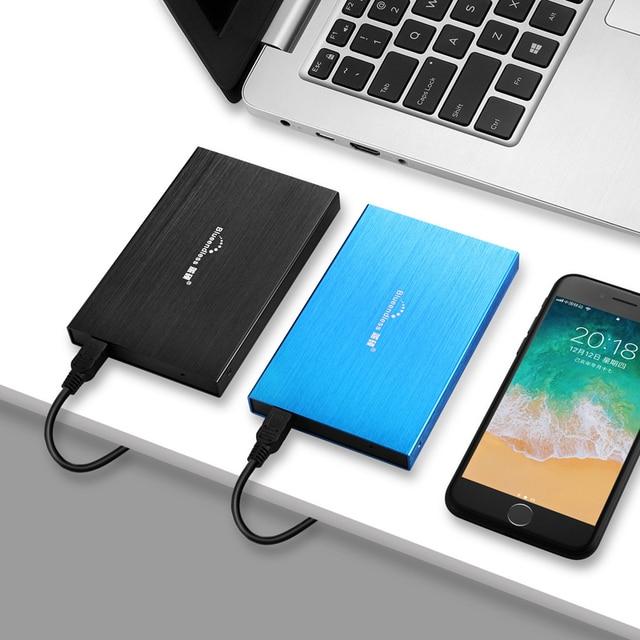 "Blueendless HDD 2.5""Portable External Hard Drive 500gb/750gb/1tb/2tb Hard Disk hd externo disco duro externo for Laptop Desktop 2"