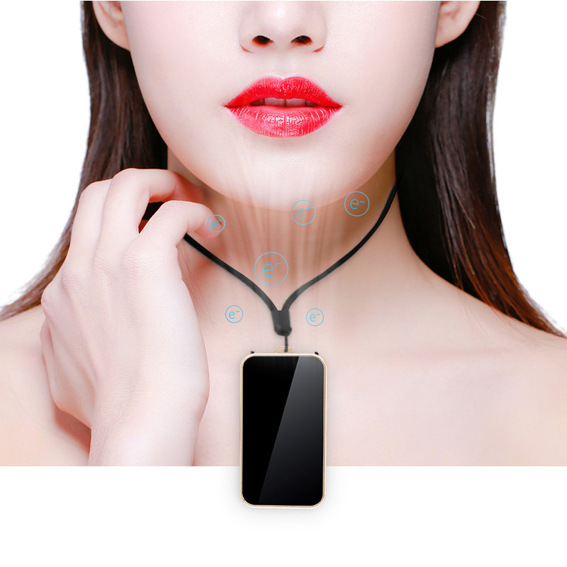 Necklace Air Purifier Fashion Personal Wearable Purifiers Portable USB Air Cleaner Freshener Negative Ion Generator Ionizer Car