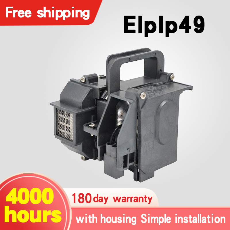 Projector Lamps For ELPLP49 Powerlite 6100, 6500, 8100, 8350, Pro Cinema 9100, 9350, 9500, For Epso N Projectors