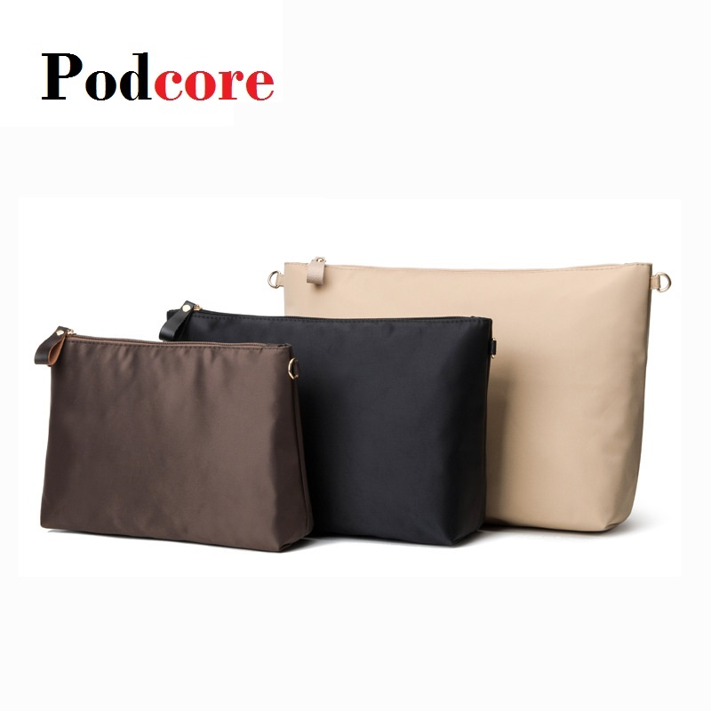 Purse Insert Organizer Nylon Large Tote Bag Organizer Insert Handbag  Women's Handbag Organizers Neceser Maquillaje Mujer|Cosmetic Bags & Cases|  - AliExpress