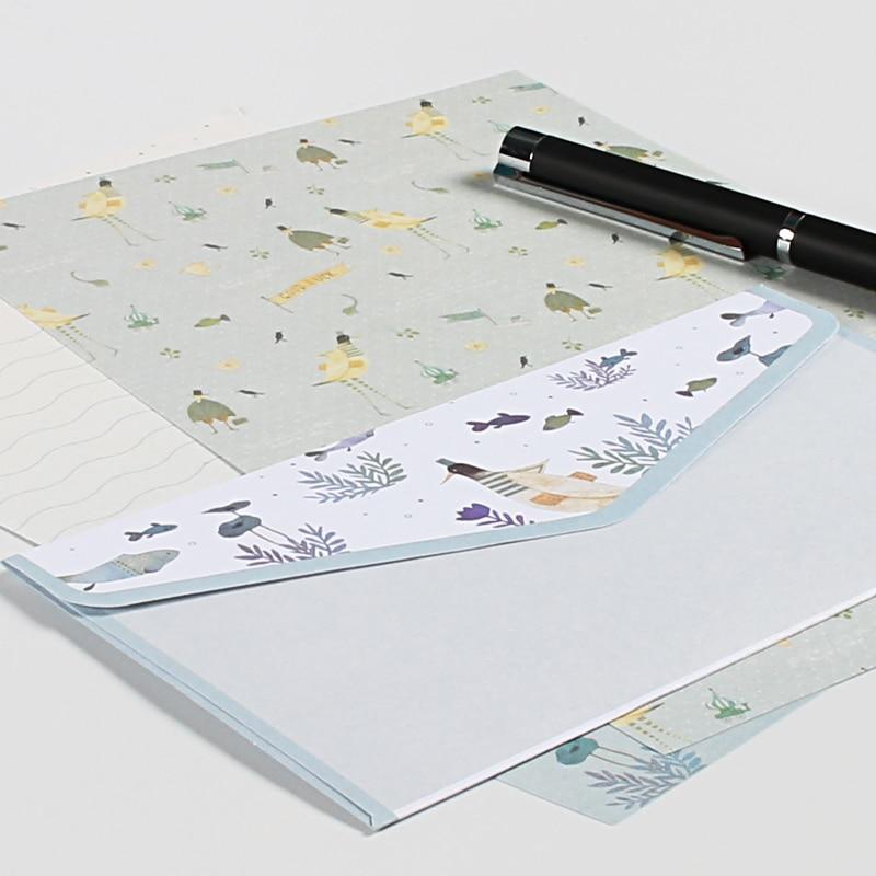 9 pcs/lot Postcard Letter Stationery  Paper Envelope Vintage Envelopes for Invitations  Small Gifts Mini writing cute envelopes