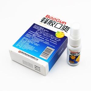 Image 4 - 20 мл натуральный травяной освежитель для рта спрей пчелиный прополис Антибактериальный оральный спрей язвы для ротовой полости лечение зубной боли плохое дыхание
