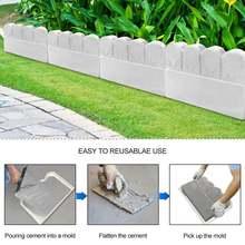 Форма для забора и бетона форма кирпича цемента пластиковый
