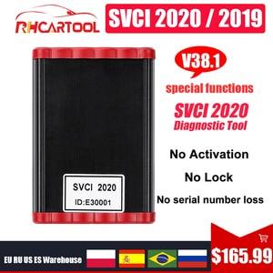 Image 2 - Программатор ключей FVDI SVCI 2020, V38.1, OBD2, функция SVCI VVDI2, V2014, SVCI 2018, без ограничений, Fvdi abrites commander, для обновления vag