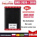 OBD2 SVCI 2020 V38.1 OBD2 Key programmer SVCI function of VVDI2 V2014 SVCI 2018 No Limited SVCI abrites commander Update