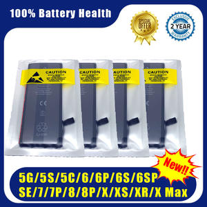 0-Cycle-Battery Replace iPhone 4 8-Plus for 4S 5 5S 5c/Se/6/.. Wholesale 10pcs/Lot