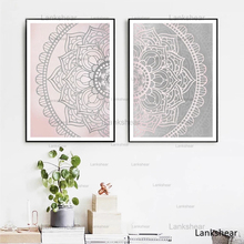 Modern Home Decor Modular Canvas Painting Mandala Vintage Pictures Wall Art Hd Prints Nordic Style Simple Poster For Living Room