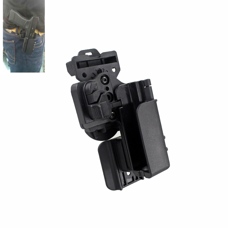 Tactical OWB Gun Case Hunting Glock 19/34 Holster Condition 3 Carry Quick Holster Right Hand Pistol Holder Fit For Glock 17/22