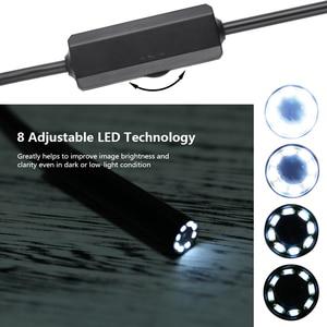 Image 3 - 와이파이 내시경 카메라 IP68 방수 검사 Borescope 2MP 1200P HD 소프트 케이블 하드 케이블 iOS 안 드 로이드에 대 한 8 LED