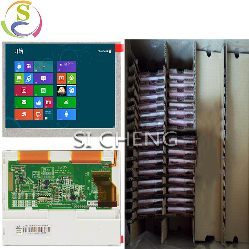 Direct selling RGB Interface 5.6inch LCD screen AT056TN53 V.1 Resolution640*480 Brightness350 Contrast 500:1