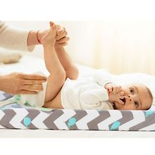 Простыня для колыбели, пеленальный коврик, набор, ультра мягкий, эластичный, облегающий, сменный коврик, чехлы для мальчиков или девочек, 2 упаковки, КИТ/облако