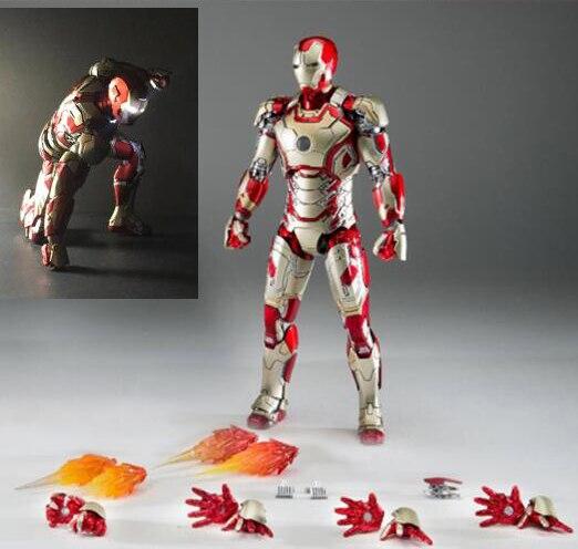 Comicave 1:12 Iron Man MK42 LED  Diecast Figure Model SDCC2016 w// Sofa Set