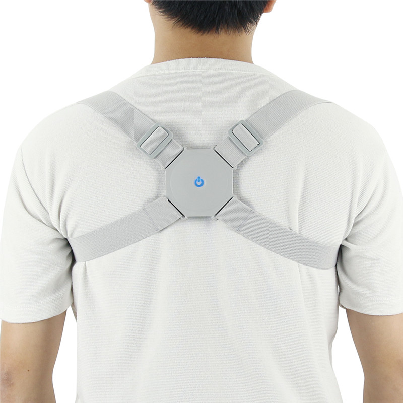 1PC Adjustable Intelligent Posture Trainer Smart Posture Corrector Upper Back Brace Clavicle Support for Men Women Pain Relief
