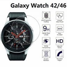 100pcs/lot Tempered Glass Screen Protector For Samsung Galaxy Watch 46mm 42mm 9h Protective Glass Film fit for Samsung Gear S3
