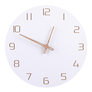 Nordic Wooden Wall Clock Bedroom Clocks Departments Dining Room Entryway Living Room Rooms