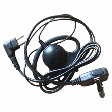 10x D Shape Headphone Headset Earpiece For Motorola GP3188 GP88S EP450 CP040 DEP450 XIR P3688,DP1400,Hytera TC700 Radio