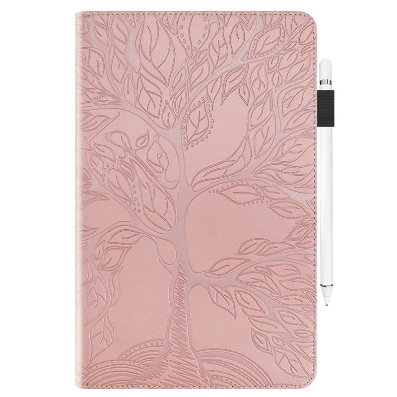 Pro Stand-Tablet for Flip-Case 11 Coque Wallet Funda iPad Emboss-Tree