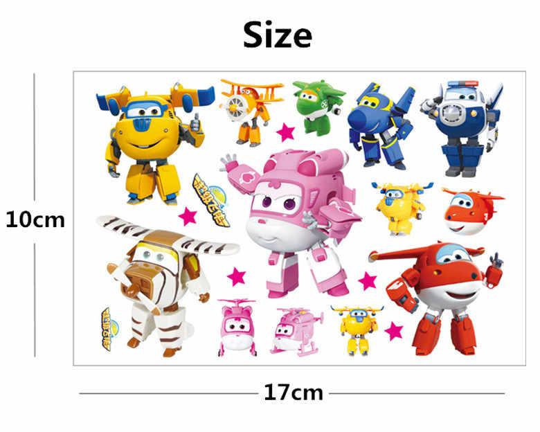 Hasbro Pembe küçük uçak Çocuk Karikatür Geçici Dövme Etiket Çocuklar Için karikatür oyuncaklar Su Geçirmez Parti Çocuklar Hediye