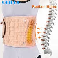 Cintura cinta de tração do ar cinto lombar apoio lombar lombar cinto alívio costas liberação da dor massageador unisex fisiodescompressão