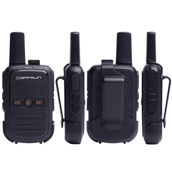 2pcs OPPXUN C51 MINI Walkie Talkie Portable Ham Radio Station Telsiz Headset Transceiver Children Long Range cb Radio Telefon CD 3