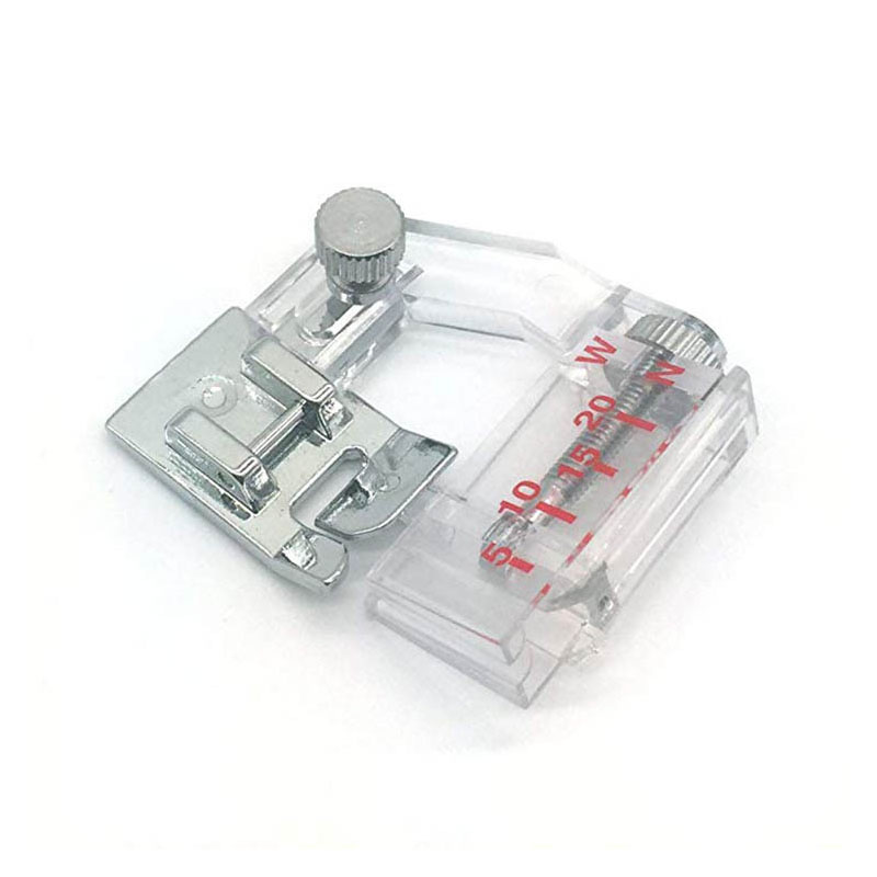 1pcs 6290 Sewing Machine Presser Wrapped Edge Presser Foot Bag Strip Multi-function Adjustable Width Household DIY(China)