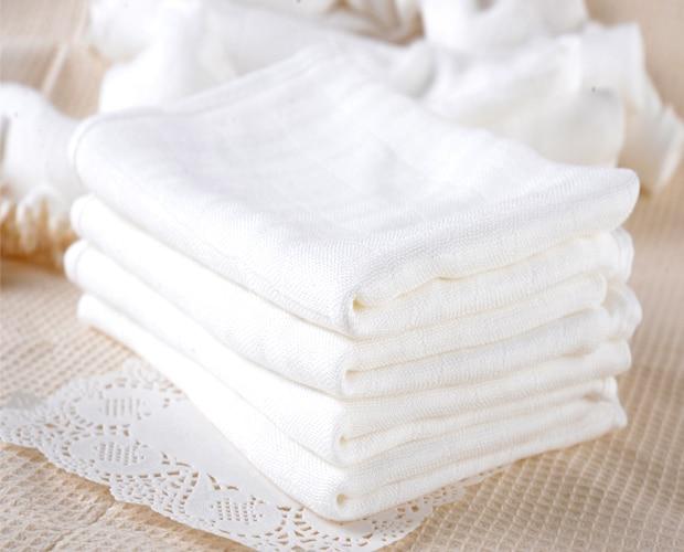 5 шт./лот 100% хлопковые детские марлевые подгузники для новорожденных детские пеленки Сменные 60x50 см моющиеся мягкие детские полотенца