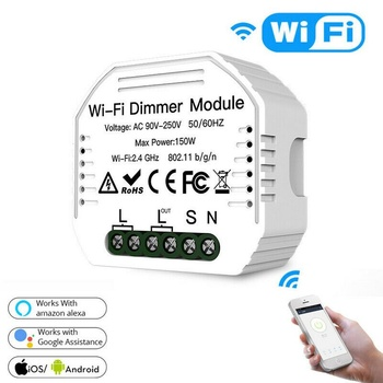 WiFi Smart Light Switch DIY Universal Breaker Timer Smart Life APP Wireless Remote Control Works with Alexa Google Home sonoff smart wifi remote control diy wireless switch universal module dc5v 12v 32v self locking wifi switch timer for smart home