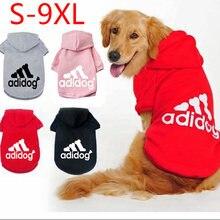 Inverno quente roupas para cães de estimação cão com capuz acolchoado colete casaco para pequeno médio grande cães pug chihuahua ropa para perros