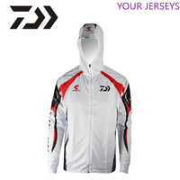 2020 DAWA 남자 야외 스포츠웨어 낚시 의류 빠른 건조 안티 자외선 태양 낚시 셔츠 긴 소매 스포츠 의류 DAIWA Pesca