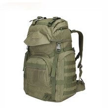 Outdoor Tactical Backpack 60L Military Bag Army Trekking Sport Travel Rucksack Camping Hiking Camouflage Backpack Men