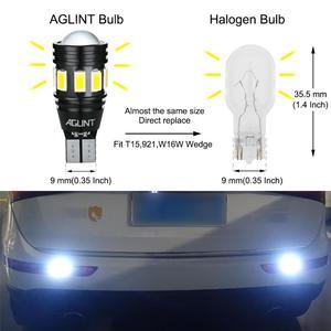 Image 3 - AGLINT 2PCS T15 W16W 912 921 LED Bulbs CANBUS No Error LED 5630 3030 SMD For Car Back Up Light Reverse Lights White 6000k 12 24V