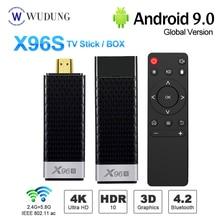 New X96S Mini PC Android 8.1 TV Box Stick Amlogic s905Y2 H.2