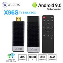 Terbaru X96S Android 9.0 Smart TV Box Mini PC TV Stick DDR4 4GB 32GB Amlogic S905Y2 2.4/5G Dual Wi BT4.2 4K HD VS X96 MAX(China)