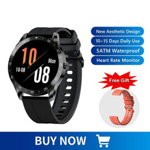 Blackview X1 Smartwatch New Sleep-Monitor Android Phone Ultra-Long for IOS 5ATM Sports-Clock