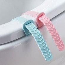 Vanzlife домашний чехол для унитаза силиконовый чехол для унитаза Регулируемый приседающий чехол для унитаза ручка для унитаза