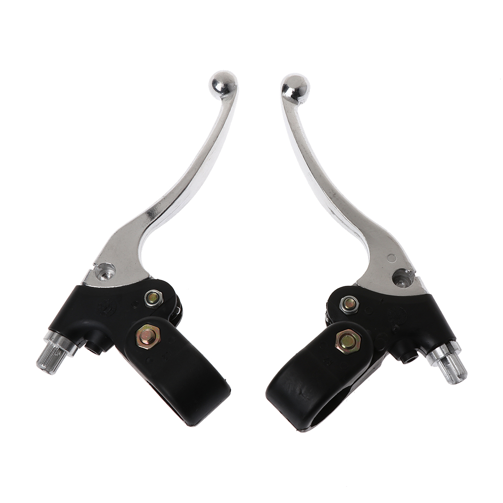 Drop Ship Brake Clutch Handle Lever Set For MTA1 MTA2 39cc 47cc 49cc Quad Motorcycle