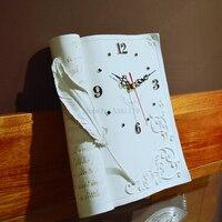 Classic Hot Selling Living Room Clock Watch Watch European Clock Watch Machine Core Antique Fashion Creative Studio Quartz Clock