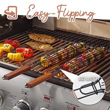 Barbecue-Baskets Bbq-Accessories-Tools Bbq-Grill Meat-Vegetable--40 Heat-Resisting Stainless-Steel