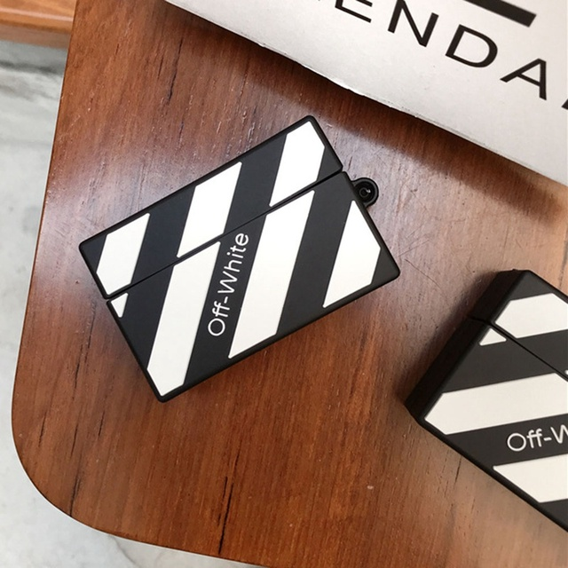 Off White Silicone Case for Airpods Pro