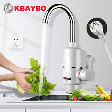 KBAYBO Water Heater Tap Kitchen Faucet Instantaneous Water Heater Shower Instant Heaters Tankless Water Heating tap EU plug(China)
