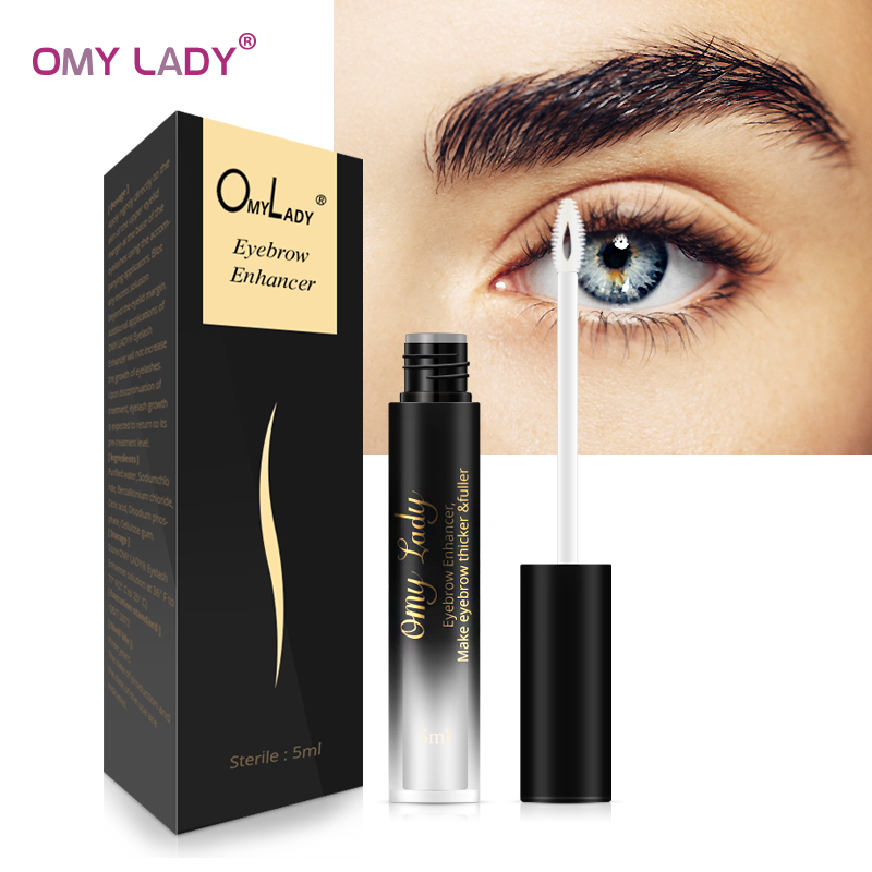 OMY LADY Eyebrows Enhancer Rising Eyebrows Growth Serum Eyelash Growth Liquid Pro Makeup Eyebrow Longer Thicker Cosmetic Tool