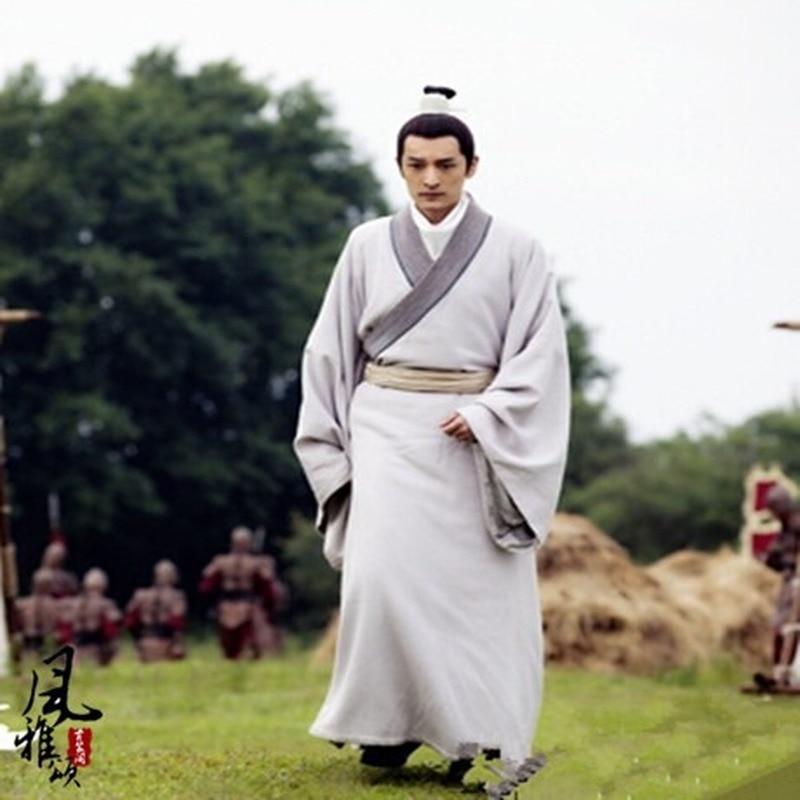 Jeu de télévision Lang Ya Bang Nirvana dans le feu acteur Mei Chang Su homme officier de justice épée hommes Hanfu Costume beaucoup de dessins cadeaux de Cosplay - 2