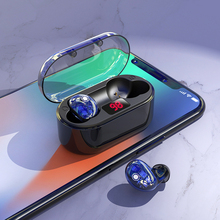 X7 TWS Wireless Bluetooth 5.0 Earphone HiFi Bass Active Noise Cancelling Touch Control Transparent Headphone With Microphone zealot b21 stereo bass wireless bluetooth 4 0 headphone hifi earphone gesture touch control noise cancelling for iphone 6 6s 7 7