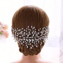 Trixy h237 g золотистые аксессуары для волос невесты ручной