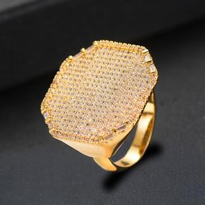 Image 5 - GODKI 2019 Trendy Square Geometry Cubic Zircon Stacks Rings for Women Finger Rings Beads Charm Ring Bohemian Beach Jewelry 2019