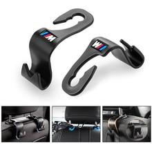 Auto colgador de respaldo accesorios del coche Interior portátil percha soporte del sostenedor del almacenamiento para BMW M E90 E91 E92 E93 M3 E60 E61 F10 F07 M5 E63